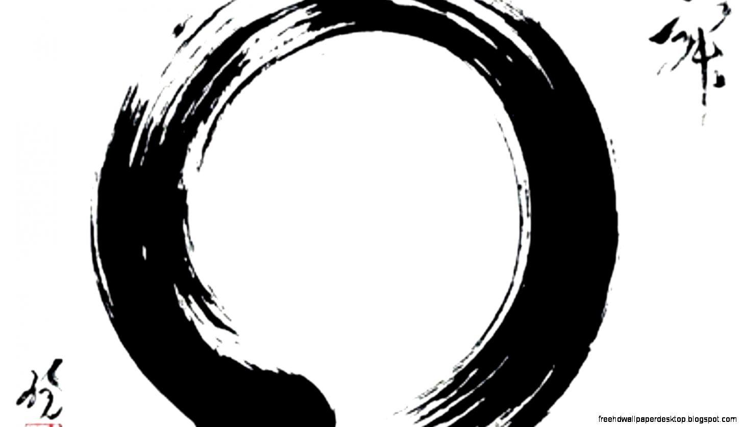 Enso Circle Zen Hd Wallpaper Free High Definition Wallpapers