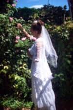 vestidos de novias a crochet