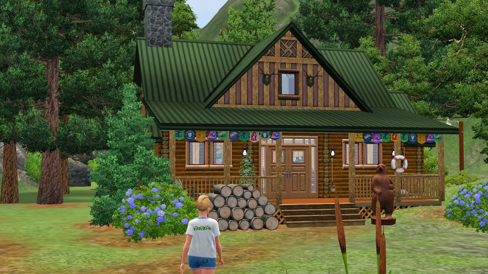 Simply ruthless send your sims to summer camp at camp Summer camp cabins