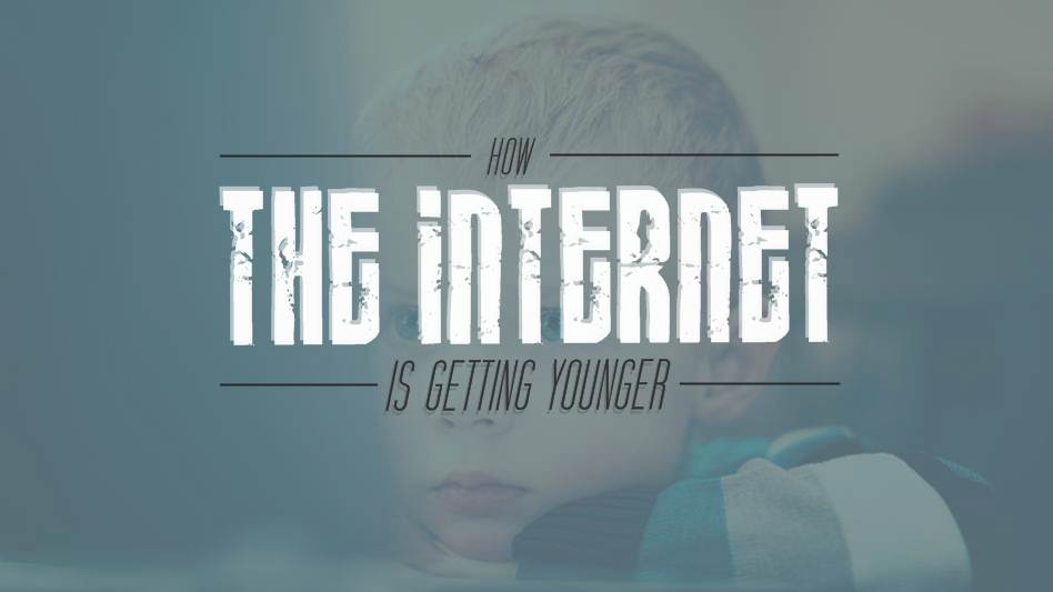 How the Web is Getting Younger - infographic