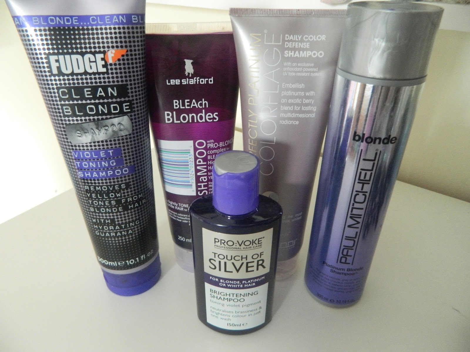 Chloe Smith: Cruelty Free Purple/Silver Shampoos
