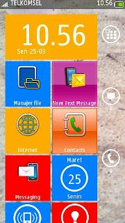 Mengubah Layar Nokia Menjadi Nokia Lumia