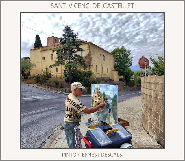 SANT VICENÇ DE CASTELLET-PINTURA-PINTAR-PAISATGES-CATALUNYA-PAISAJES-FOTOS-ARTISTA-PINTOR-ERNEST DESCALS-