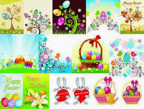 Special Easter Eggs 2015 Vector Collection