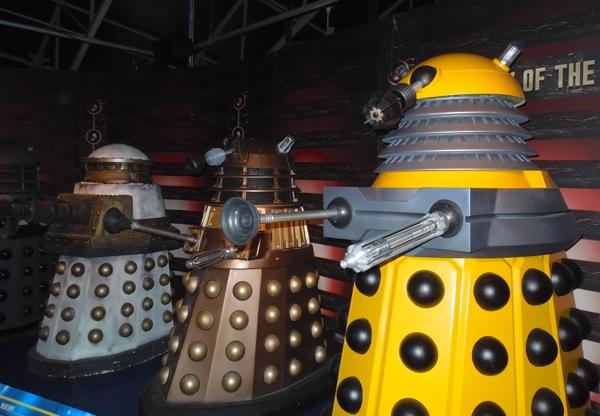 Daleks Doctor Who props