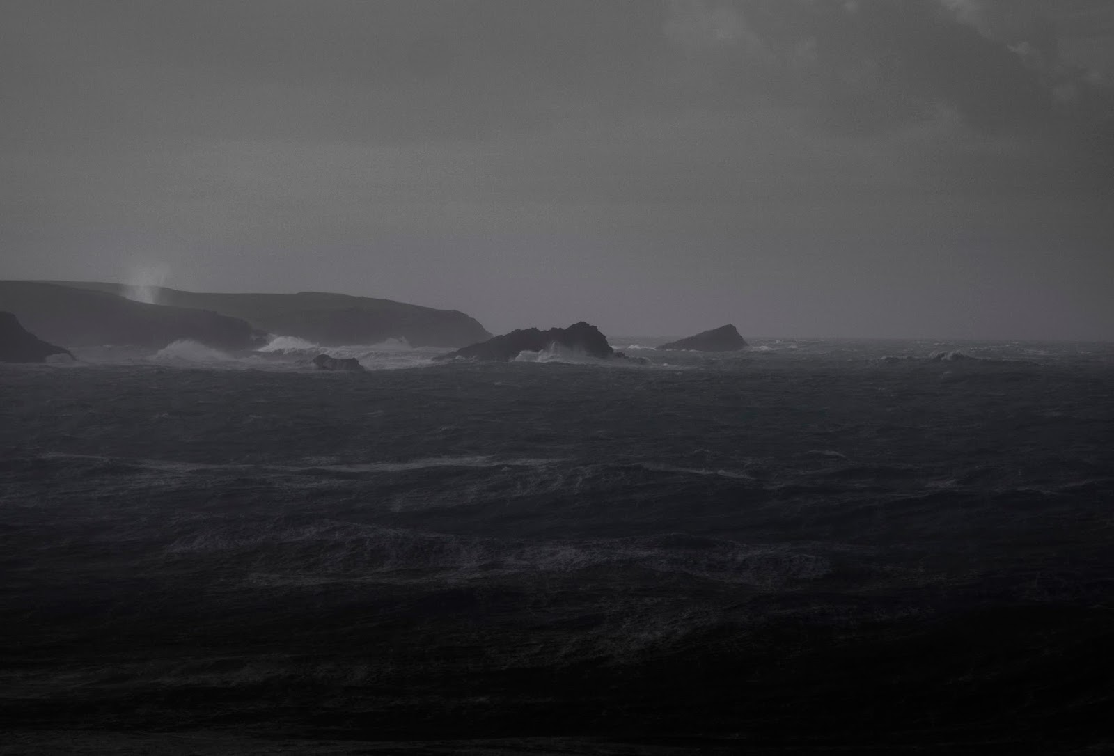 Cornwall Storm, Atlantic, Rough Sea