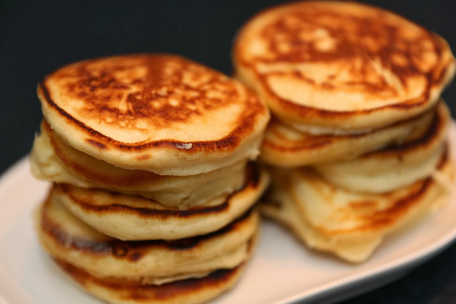 amerikanska pannkakor havremjölk