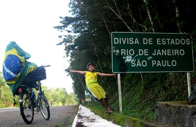 Divisa de Estados - Rio de Janeiro x São Paulo