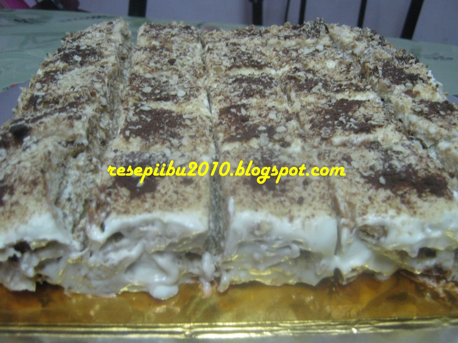 resepi kek apam