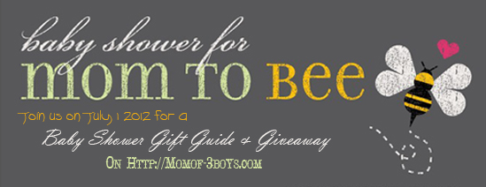 Mom of 3 Boys Baby Shower Gift Guide & Giveaway