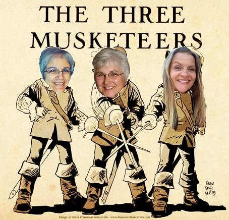 Check out the Three Musketeers