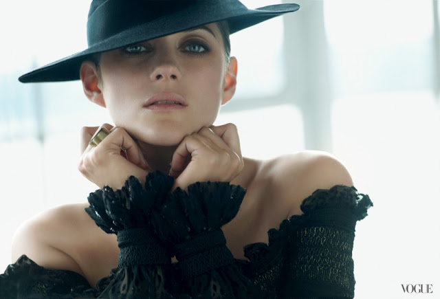 Marion Cotillard Covers August Vogue Magazine