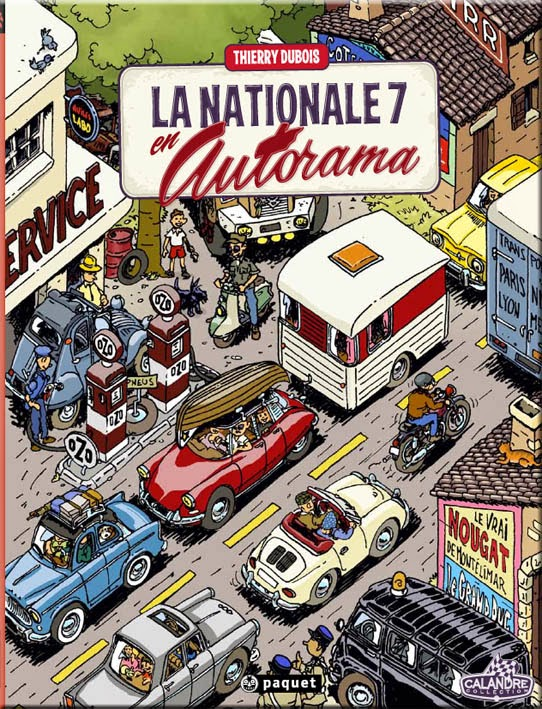 La route nationale 7 nouveau la nationale 7 en autorama for Garage auto menton