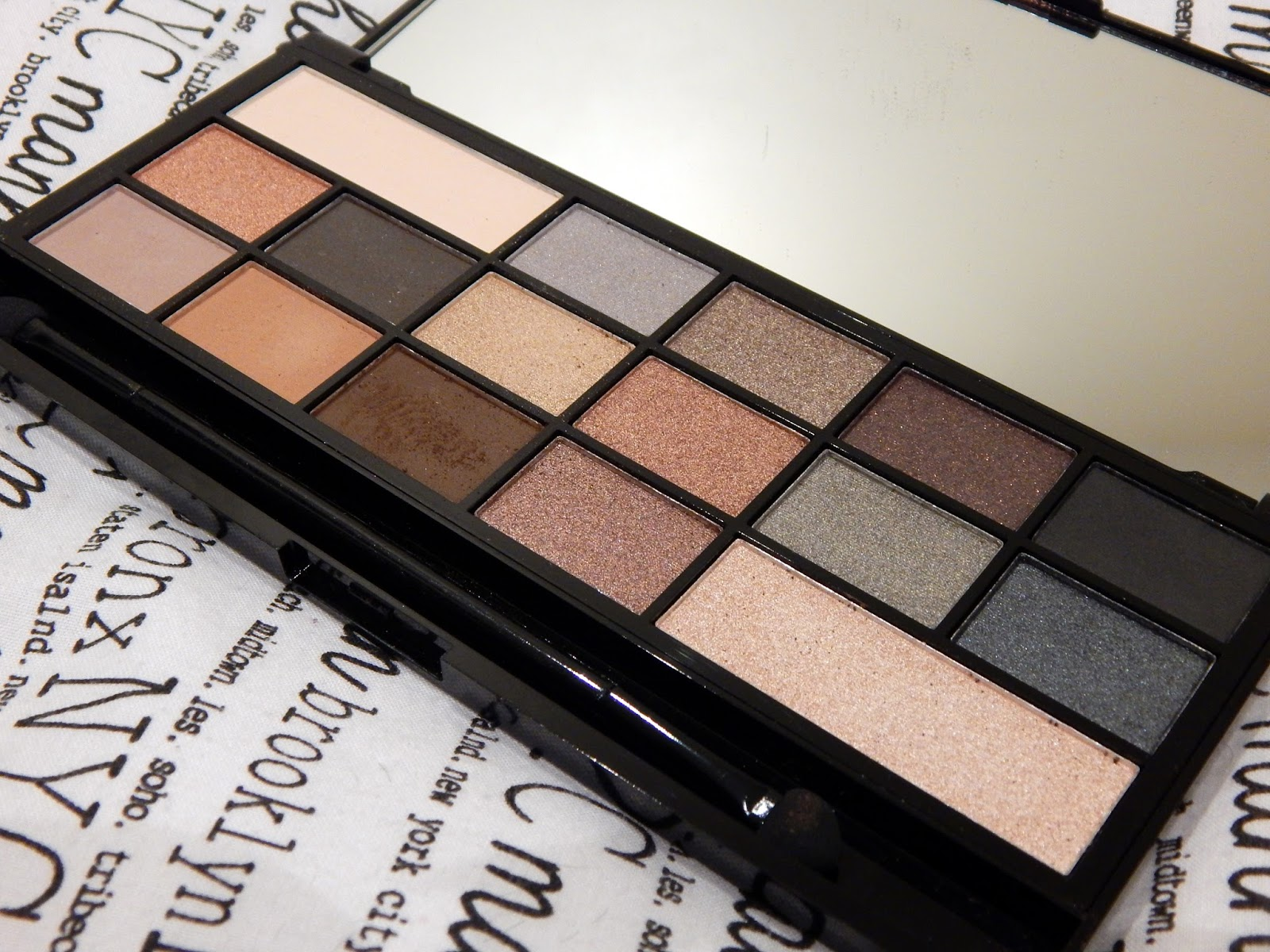 I Heart Makeup Naked Underneath - Faux Fur covered palette £7.99