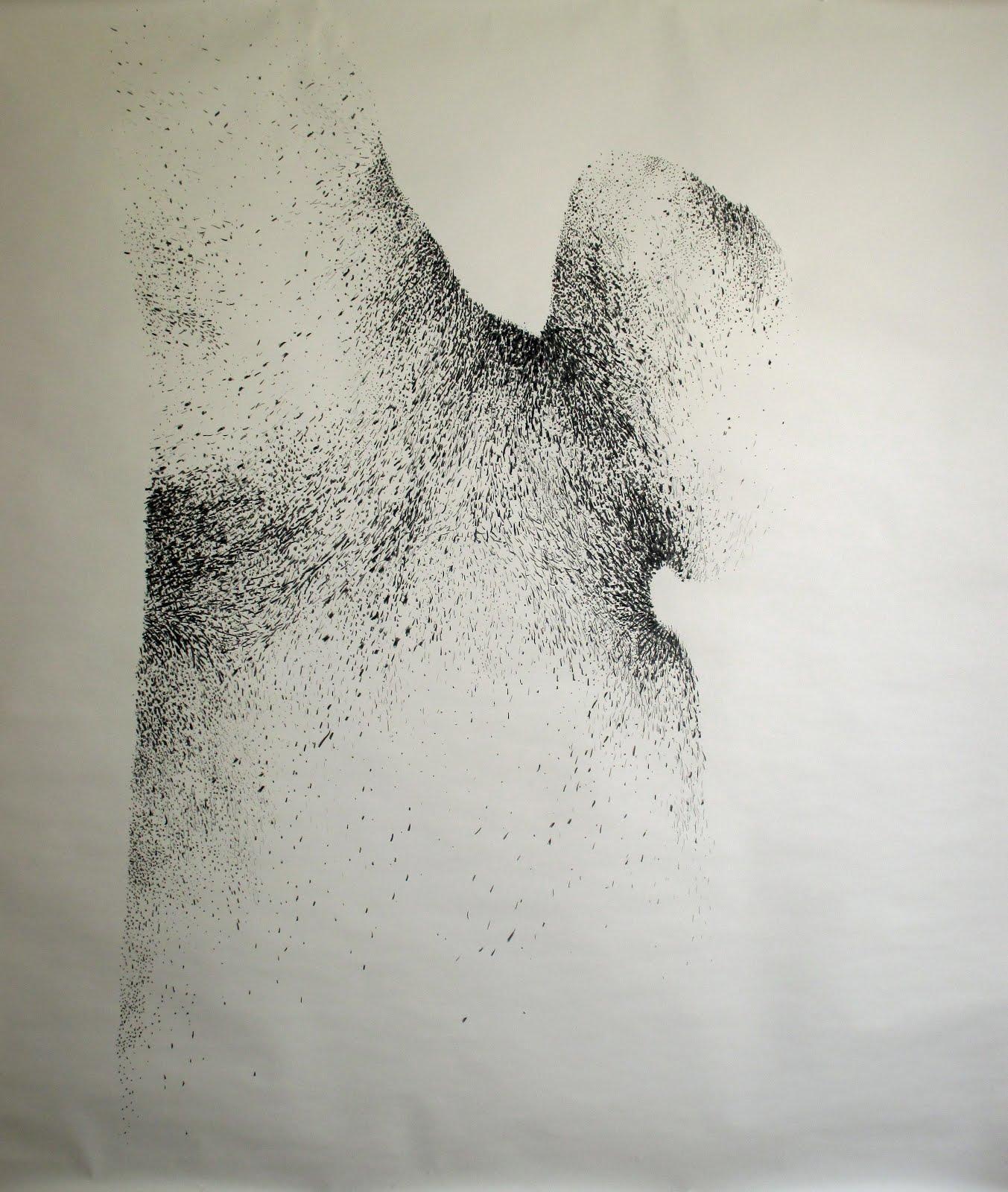 Fusain / papier 170x150 2016