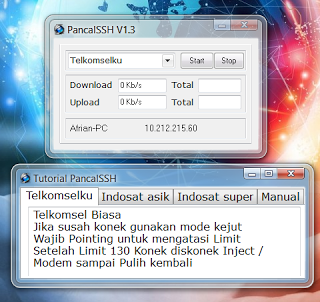 Inject Telkomsel Indosat 25 26 27 28 September 2015