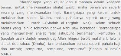 Tata Cara Shalat Dhuha & Bacaan Doa Niat Shalat Dhuha