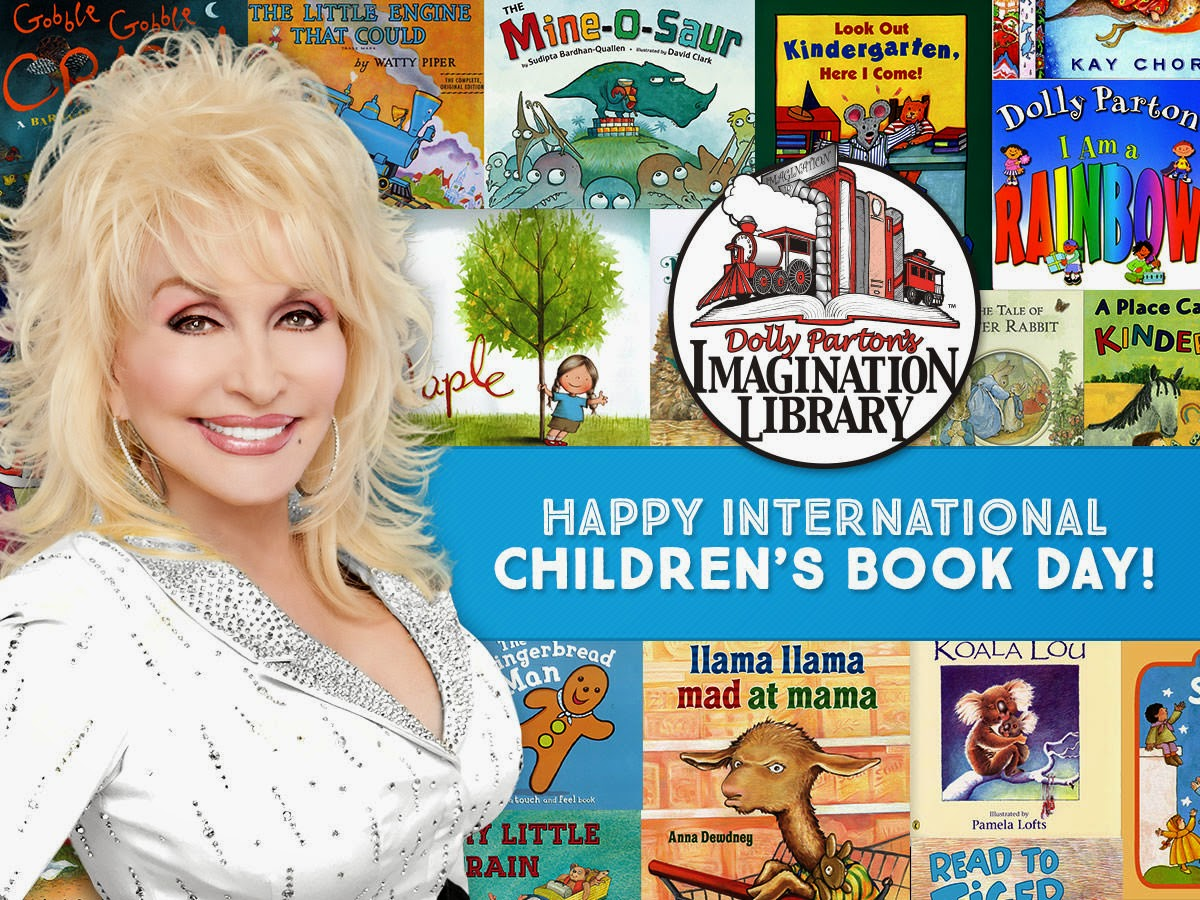 Today we celebrate International Children's Book Day