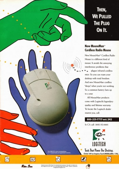 Logitech MouseMan (1991)