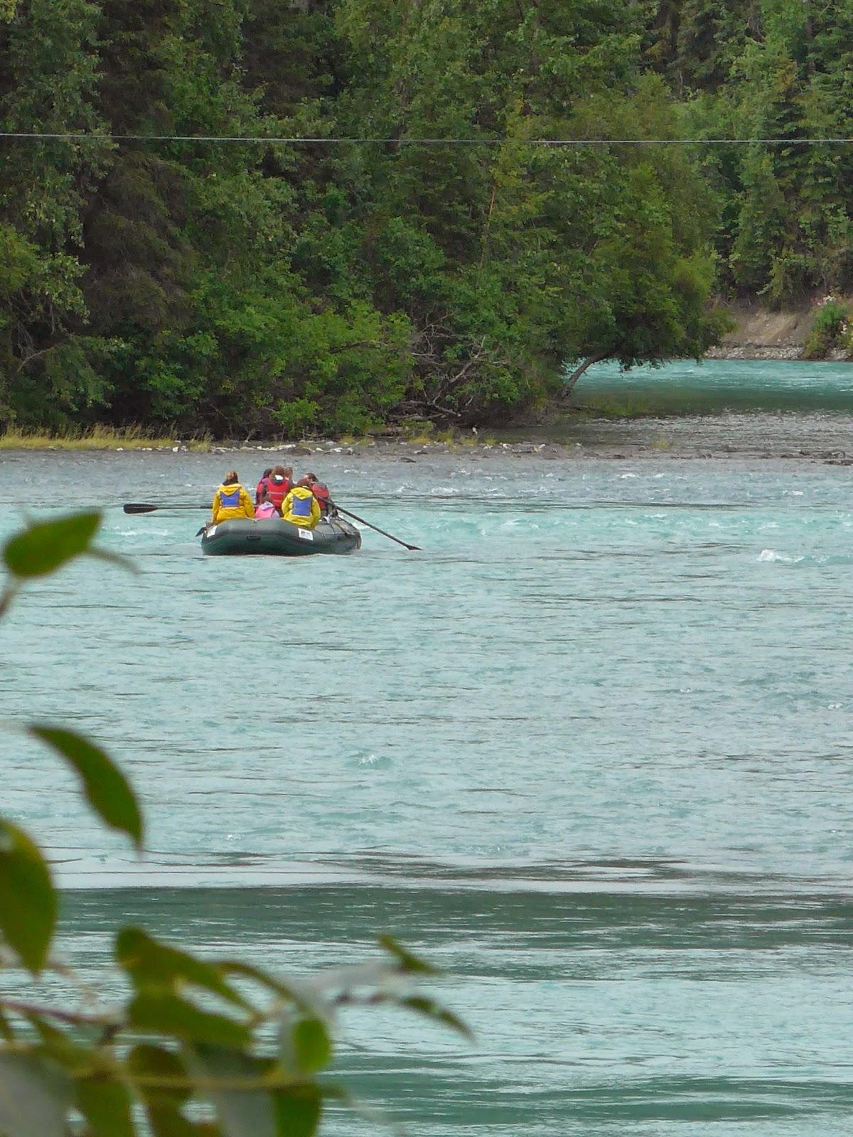 River rafting on the Upper Kenai River