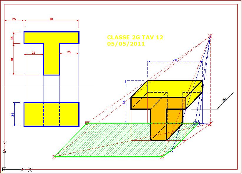 Disegno solido a forma di t for Piani domestici a forma di t