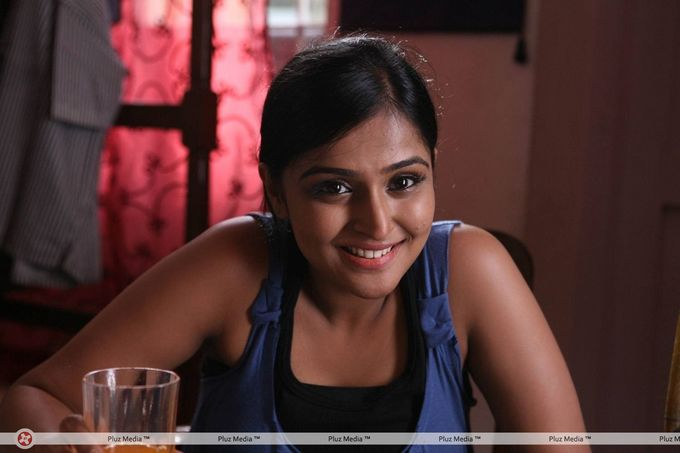 Actress Ramya Nambeesan in pizza tamil movie photos