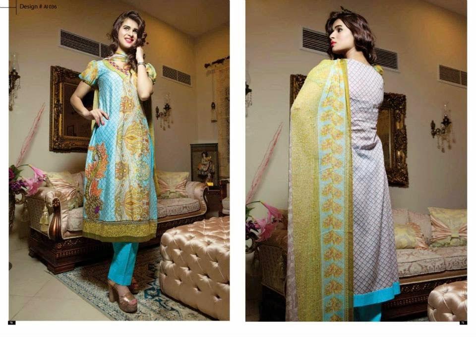 Amna Ismail Summer Dresses Vol-2 of 2014