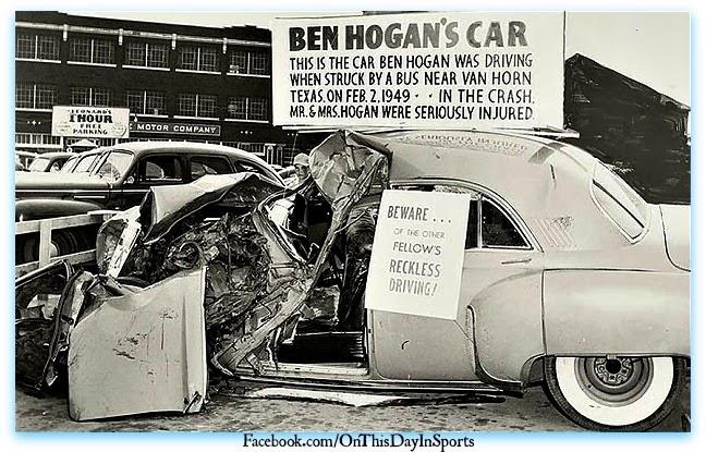 Ben Hogan Car Crash