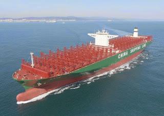 Le vert bavoir 16 porte containers polluent plus que - Le plus gros porte container du monde ...
