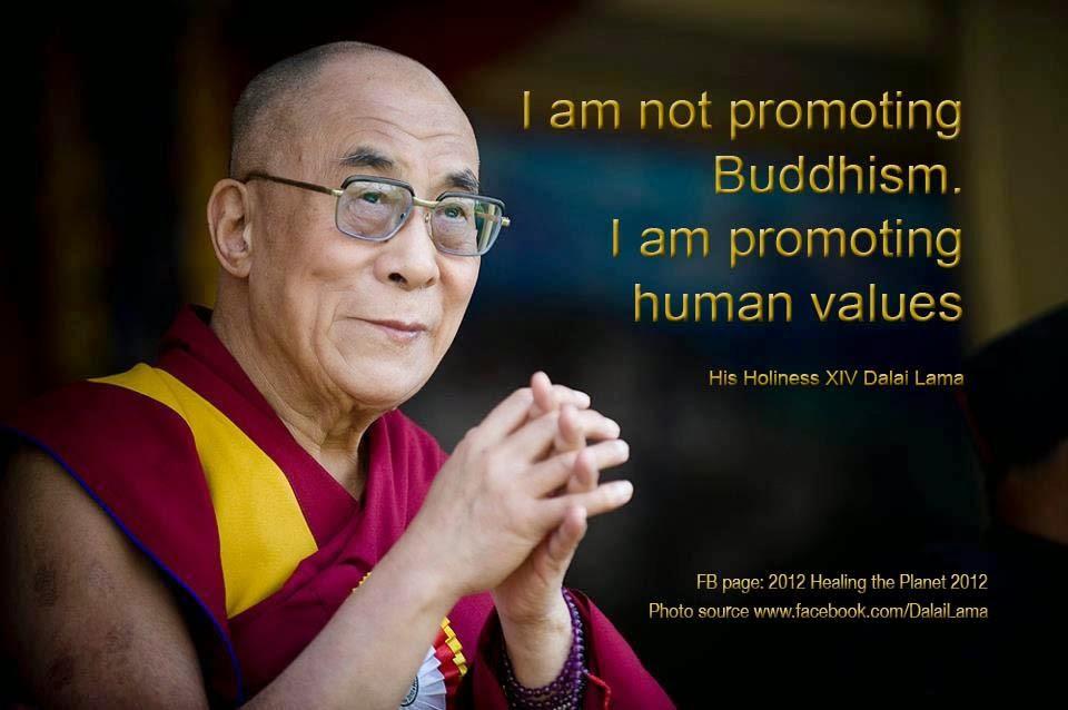 Dalaï Lama said