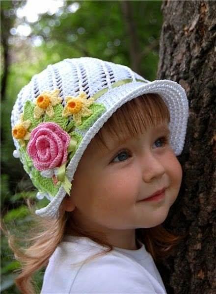 Cómo tejer sombreritos crochet paso a paso en video Encantadores ...