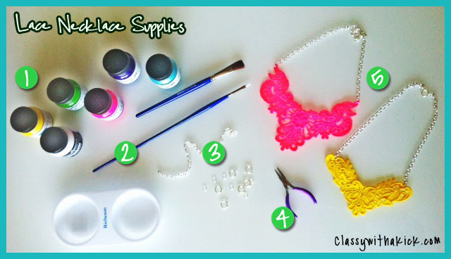 DIY Lace Necklace