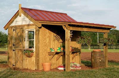 Potting shed plans pdf woodworking for Potting shed plans free