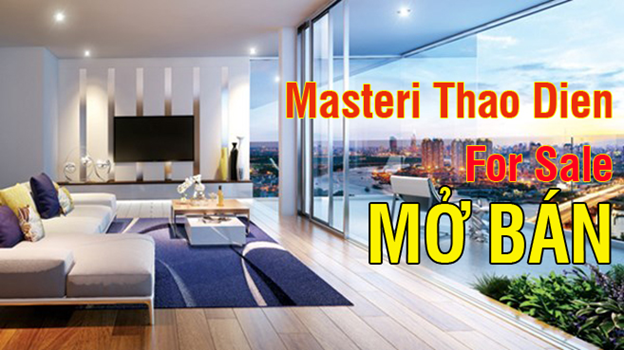 Masteri Apartment for rent in Thao Dien Dist.2