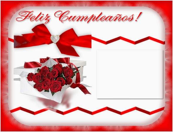 Tarjetas de Cumpleaños para Mujeres con Flores, parte 1