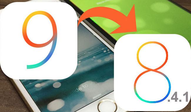 iOS 9 to 8.4.1 Downgrade