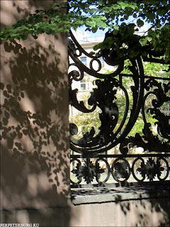 Ограда Собственного сада зимнего дворца на Проспекте Стачек в парке 9 января