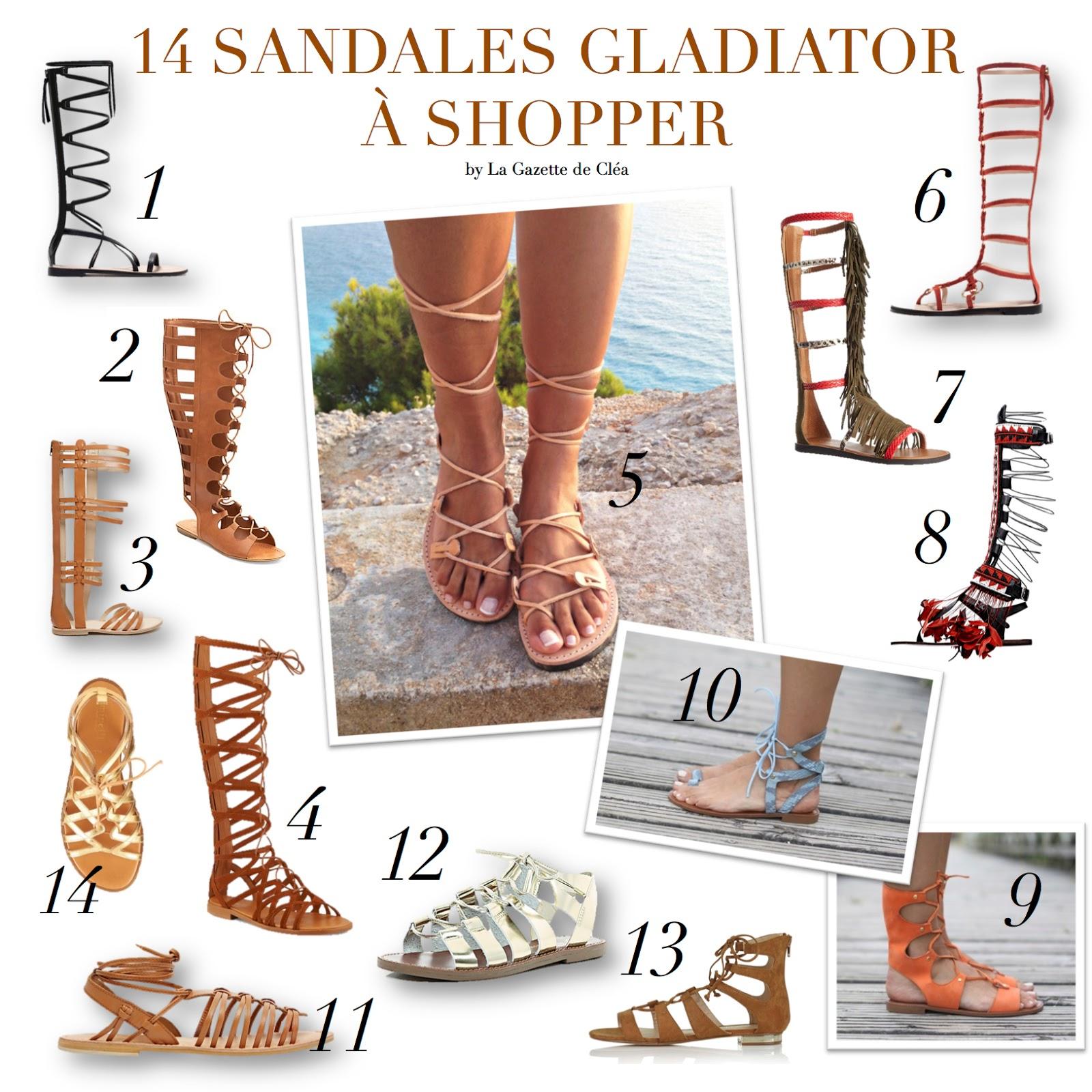 chaussures gladiator. Black Bedroom Furniture Sets. Home Design Ideas