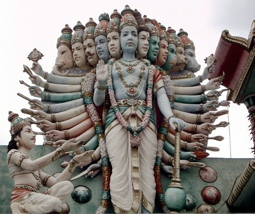 Vishwarupa of Krishna