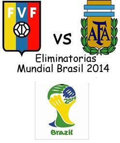 Partido Venezuela Vs Argentina Eliminatorias 2014