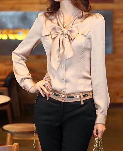 Blusas Modernas, Mujer Elegante.
