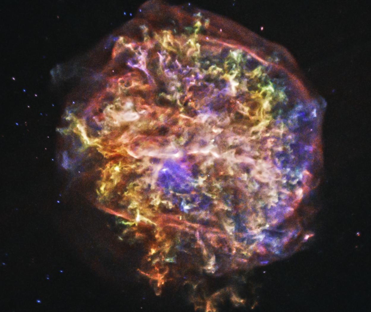 Остатки сверхновой G292.0+1.8.