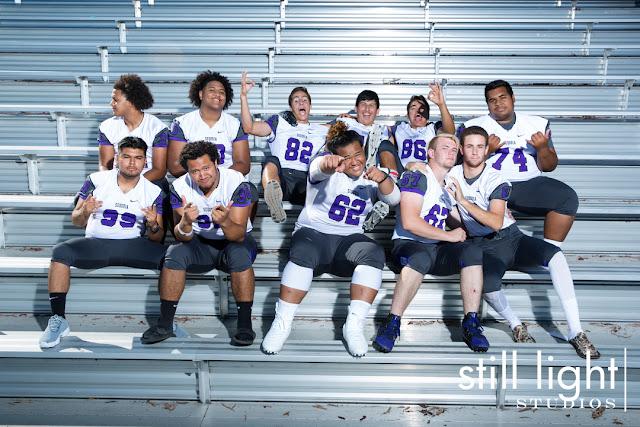still light studios sports photography bay area high school football team