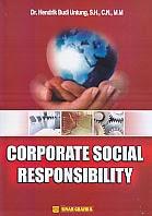 toko buku rahma: buku CORPORATE SOCIAL RESPONSIBILITY (CSR)  , pengarang jendrik budi untung, penerbit sinar grafika
