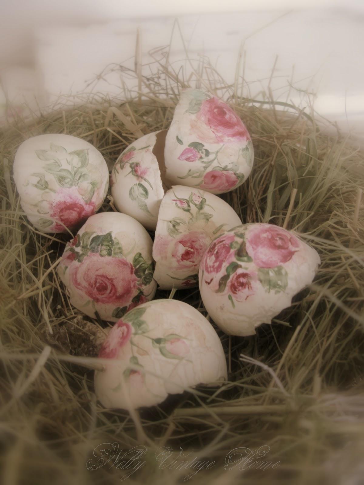 Винтажные яйца своими руками фото