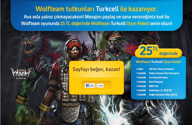 Ads%C4%B1z Wolfteam 25 tl Hediye Paketi   Wolfteam Hediye Paket Kodu Güncel