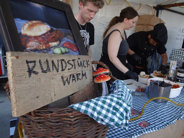 Berlin BiteClub food stand