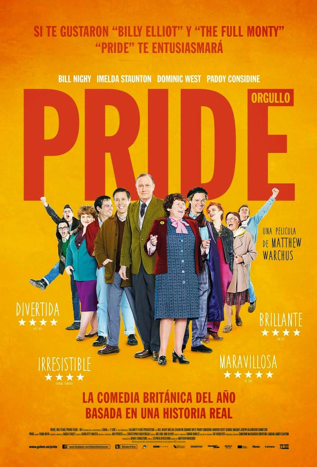 """Cine forum Anticapitalista: Miércoles 6 mayo- 22h- Entresuelo. """"PRIDE"""" M.Warchus"""
