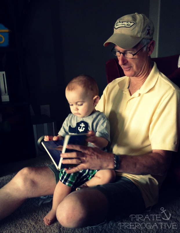 The Best Bedtime Story Ever: Story time with Papa.