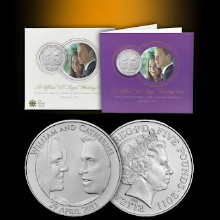 Westminster Mint: 2011 Royal Wedding Coin - UK